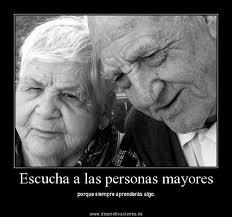 Escucha a los ancianos