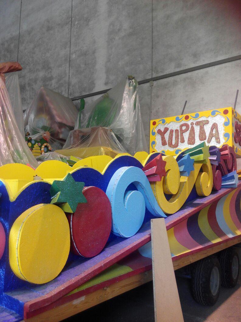 Yupita y la cabalgata de Reyes Magos de Oriente