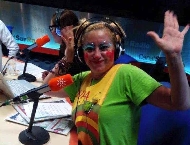 Yupita en la radio