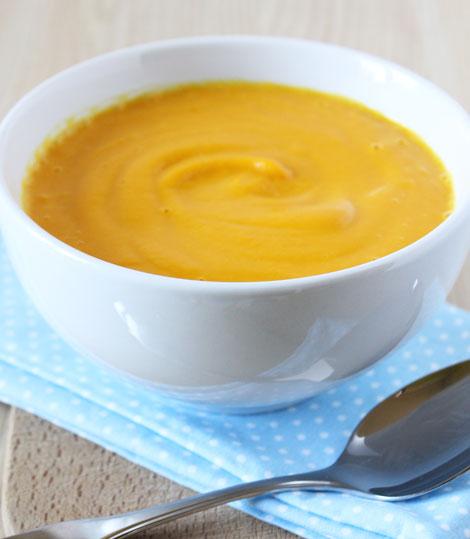 YUPI-RECETA: Crema de calabaza con quesito, ideal para los más peques