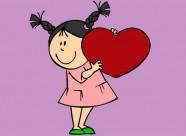 nina-con-corazon-fiestas-san-valentin-pintado-por-monky8-9802655