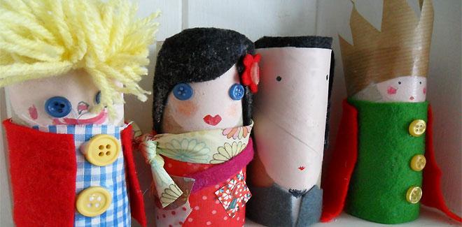 Aprende a hacer estas divertidas marionetas en casa