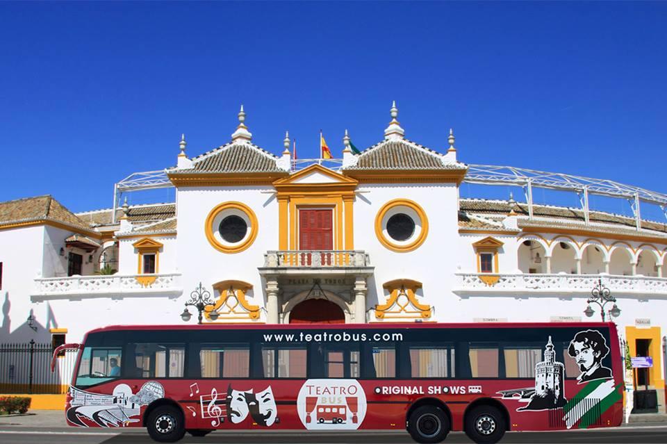 Yupita en el Teatro Bus de Sevilla
