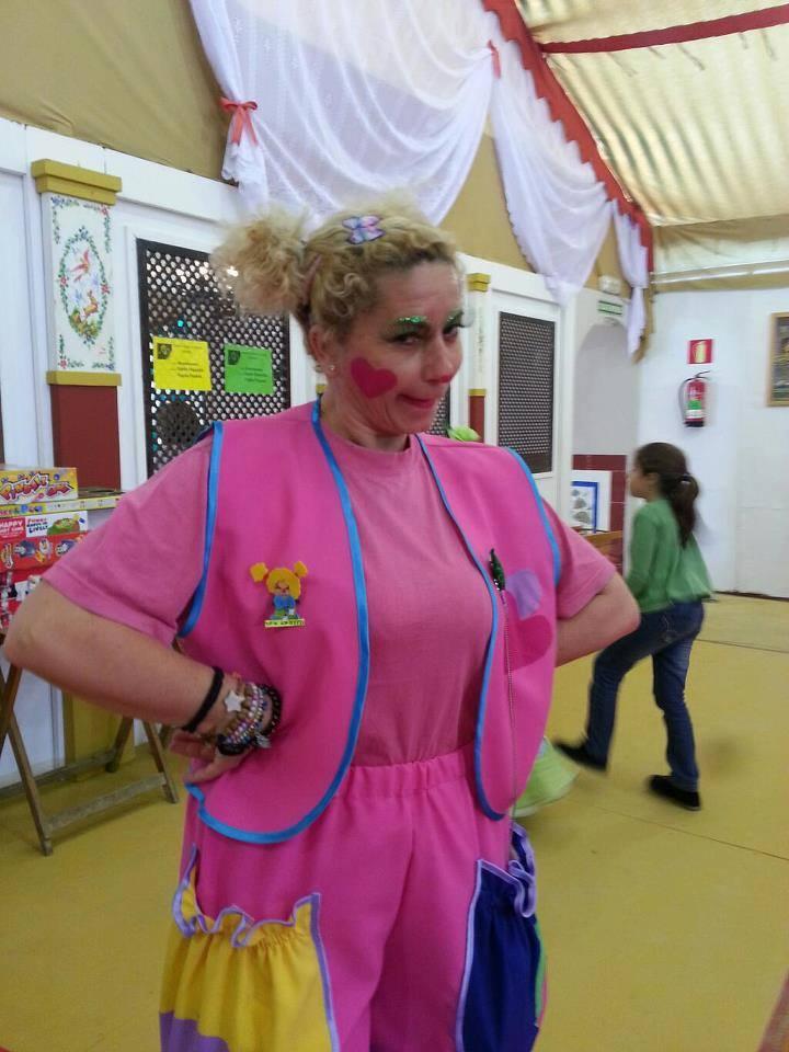Yupita en la Feria de Abril