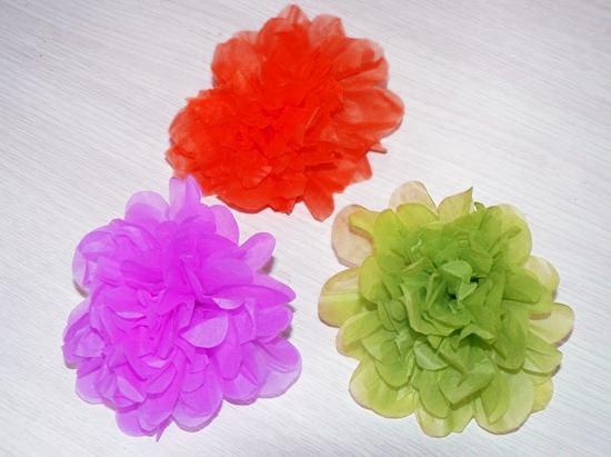Cómo hacer flores de papel con nuestros peques para la Feria de Abril