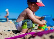 niño playa
