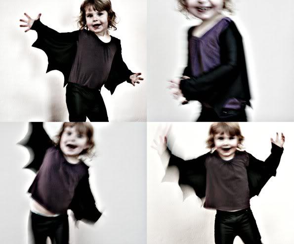 Alas de murciélago para Halloween. Hazlas en casa ¡es muy fácil!
