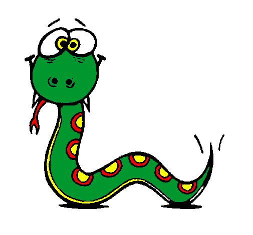La fabulosa historia de la serpiente cuadrada