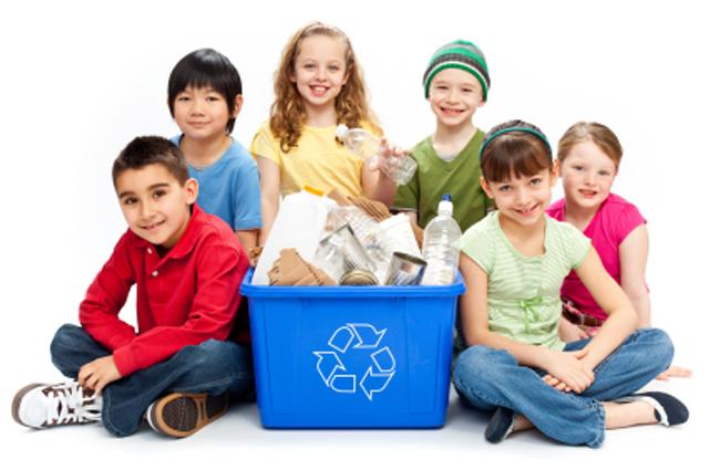 ¿Cómo reciclar con nuestr@s niñ@s?