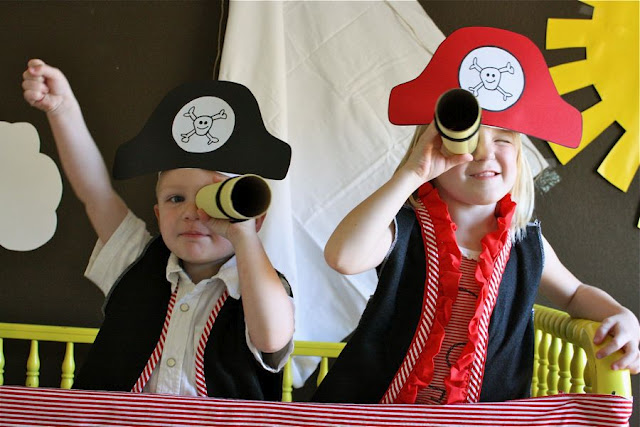 Disfraz de pirata para Carnaval