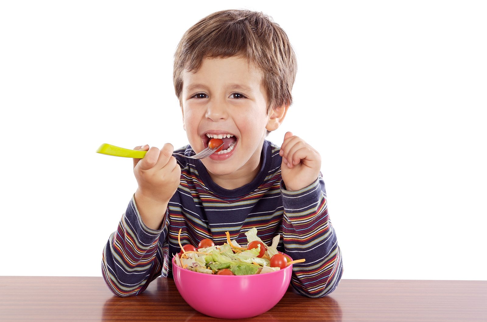Buenos hábitos alimentarios para niñ@s