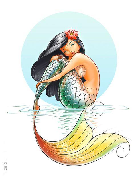Cuento del pescador y la sirena