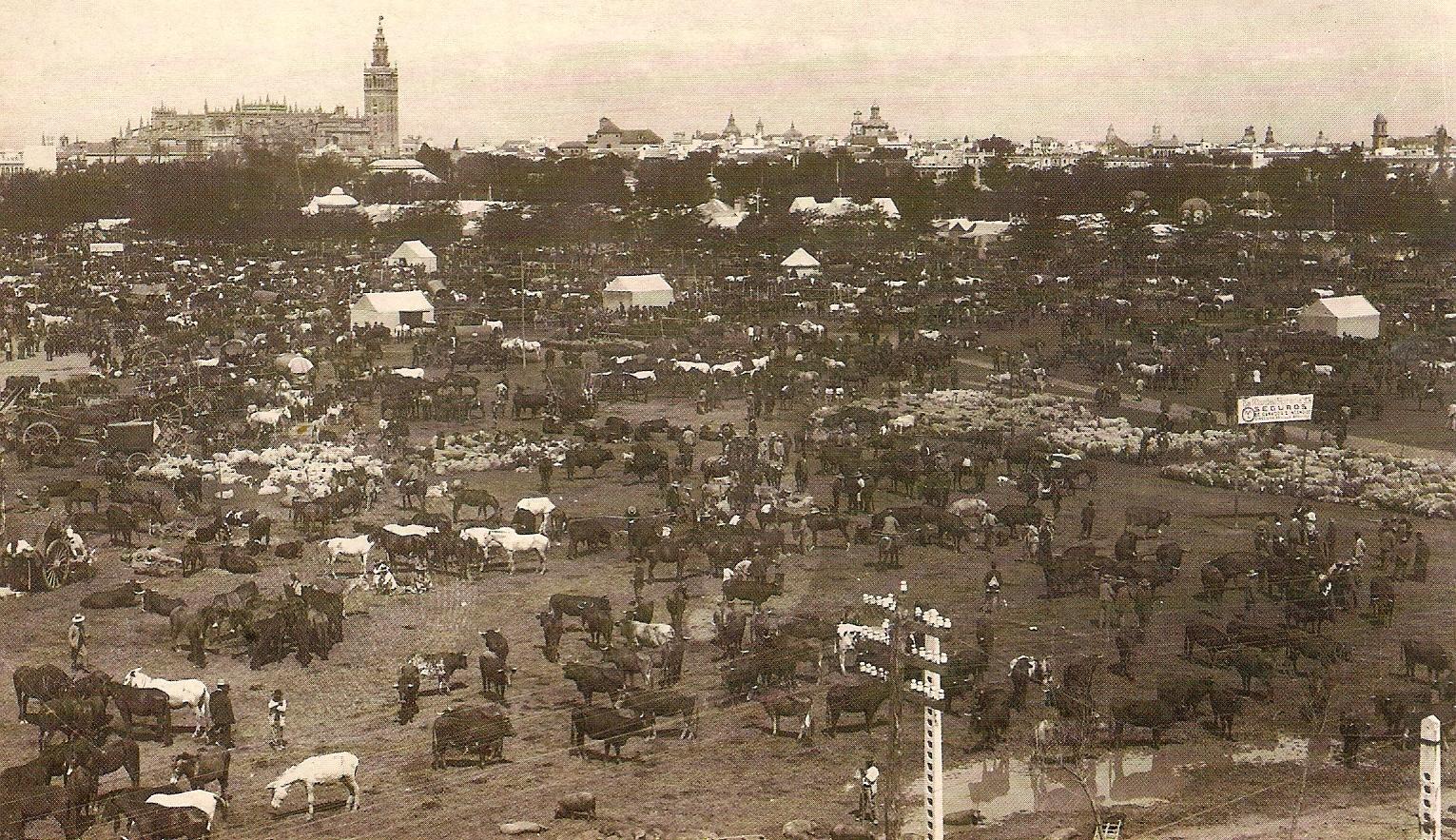 Los orígenes de la Feria de Abril