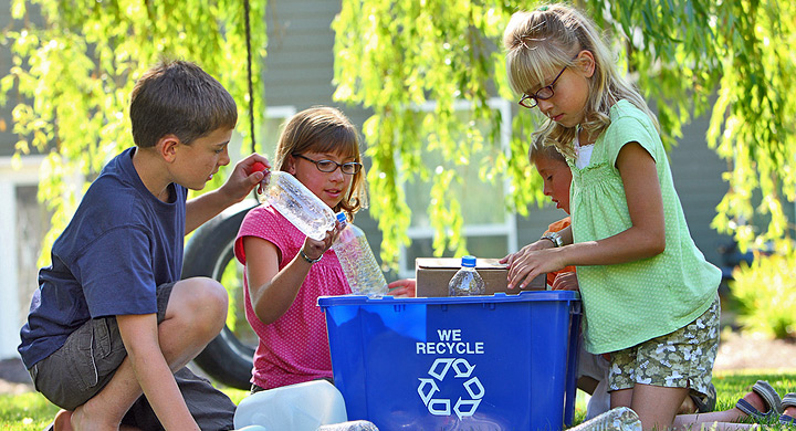 Juegos y actividades para enseñar a los niños a reciclar y reutilizar
