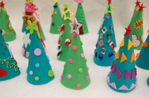 arboles navideños de cartulina