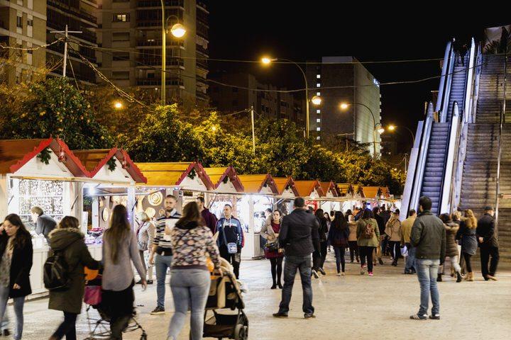 Mercados navideños en Sevilla