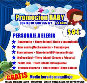 CARTEL PROMOCION BABY 1-3 AÑOS