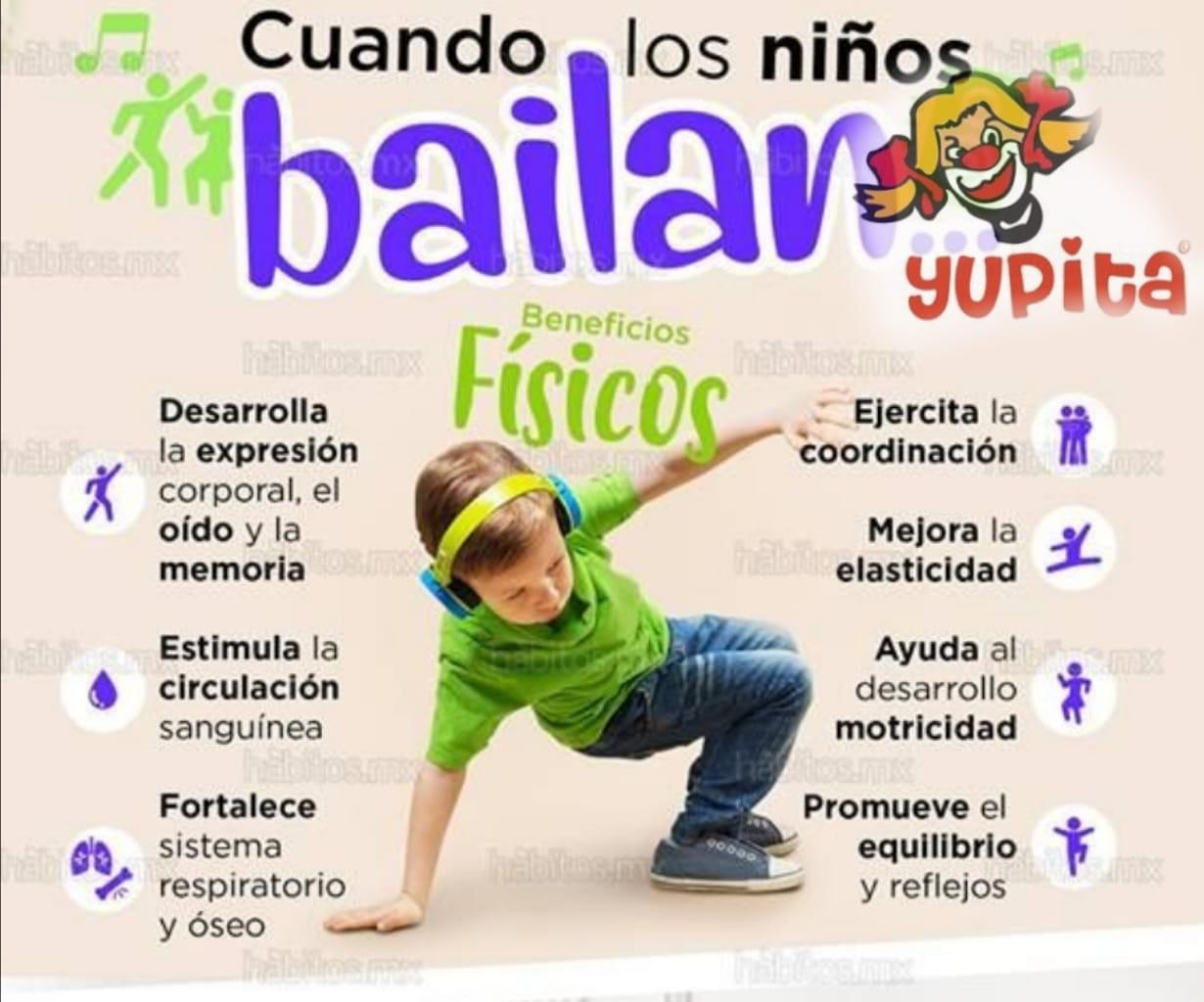 BENEFICIOS DE BAILAR EN NIÑOS